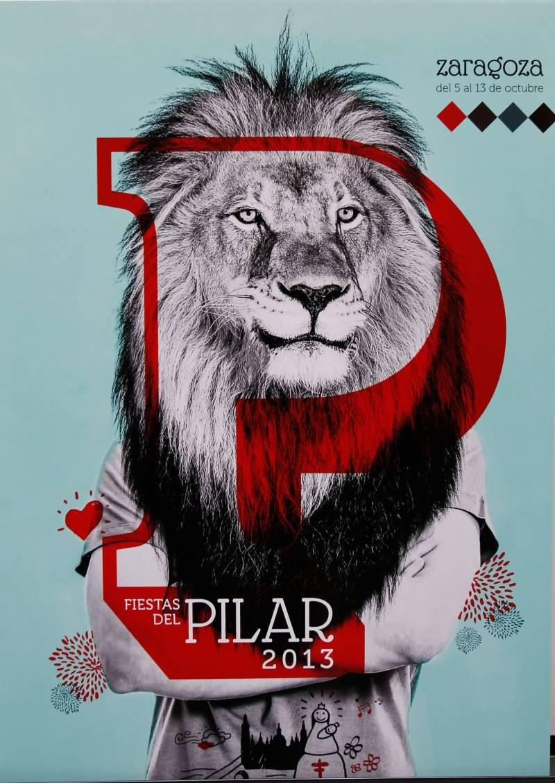 'Bestial' fue elegido el cartel ganador para las Fiestas del Pilar 2013