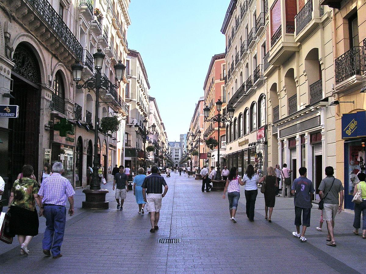 Foto de Willtron - Calle Alfonso de Zaragoza en el Casco Histórico de Zaragoza