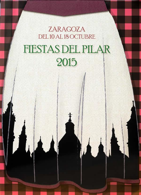 'Farandola' un diseño elegido para representar las Fiestas del Pilar en 2015