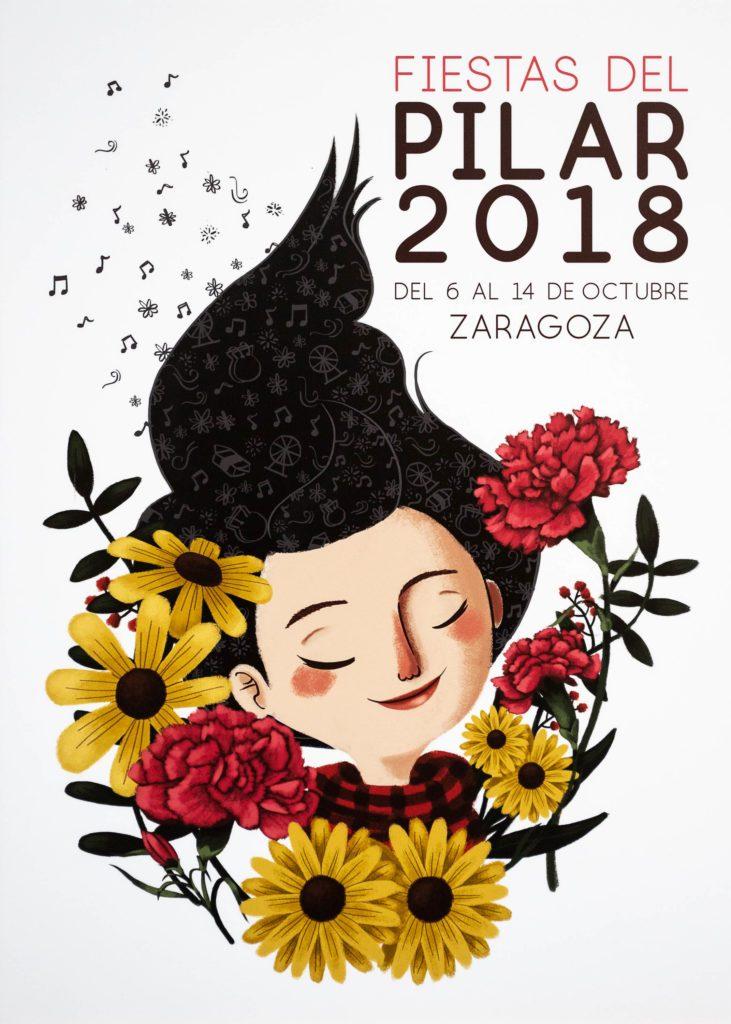 La Pili, cartel de las Fiestas del Pilar 2018