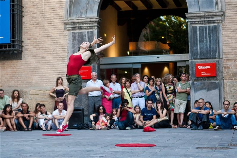 Danza Trayectos, lleva la danza a todo el mundo aprovechando los espacios de Zaragoza