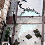 La Fuente de la Hispanidad a vista de pájaro y muchos más datos curiosos sobre Zaragoza