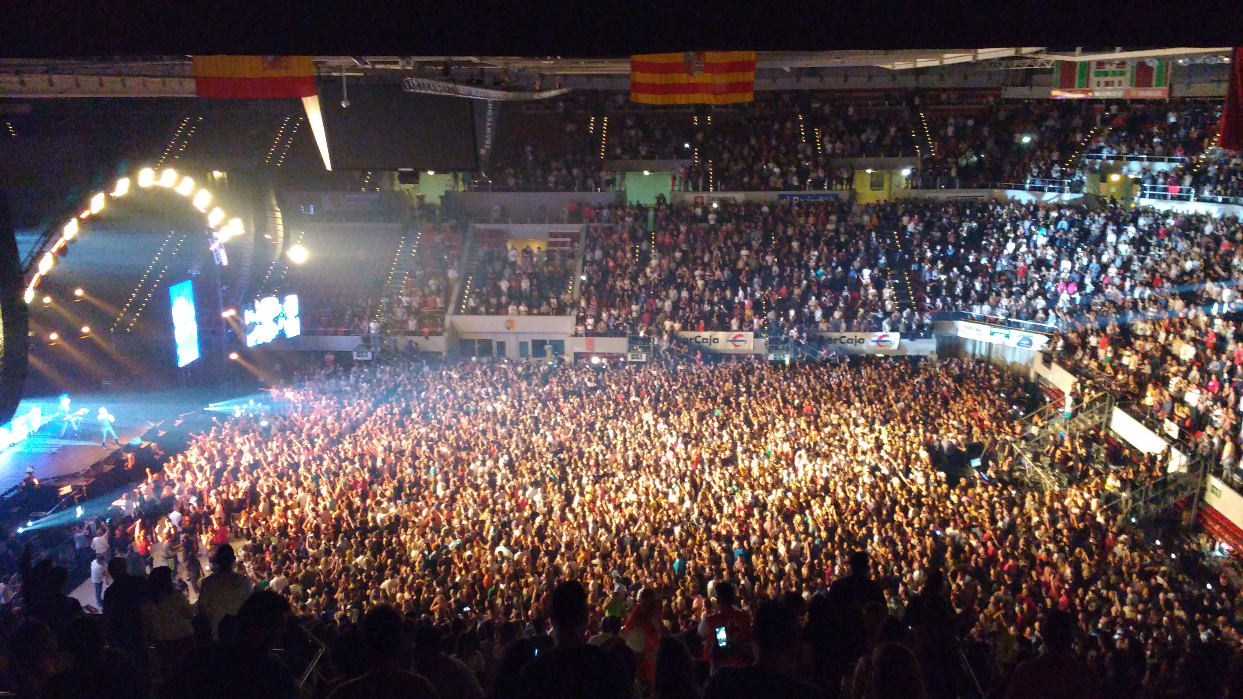 Foto de El Enano Rabioso - Grupos de música tocando en el pabellón Príncipe Felipe