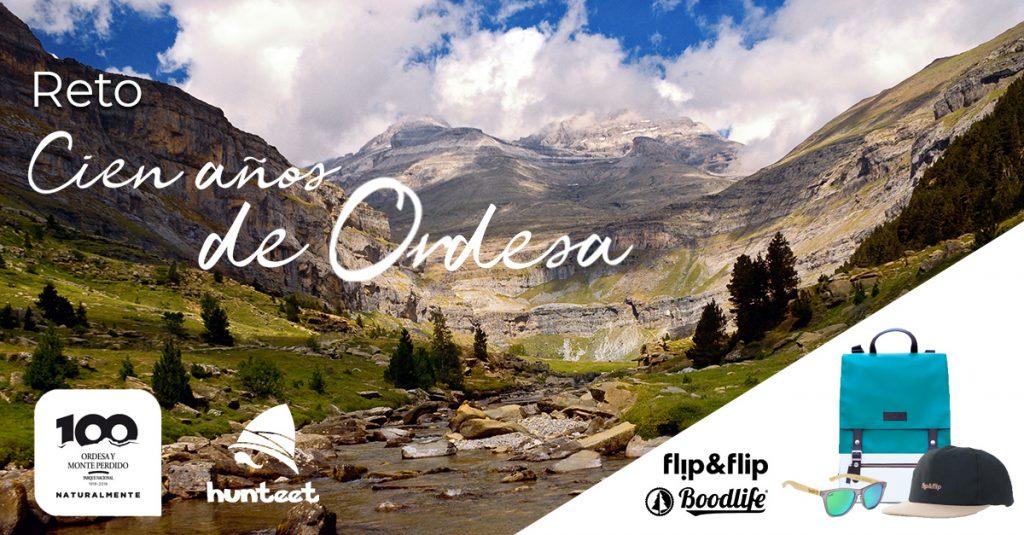 Centenario de Ordesa - Participa en el reto fotográfico Cien años de Ordesa en la app gratis Hunteet