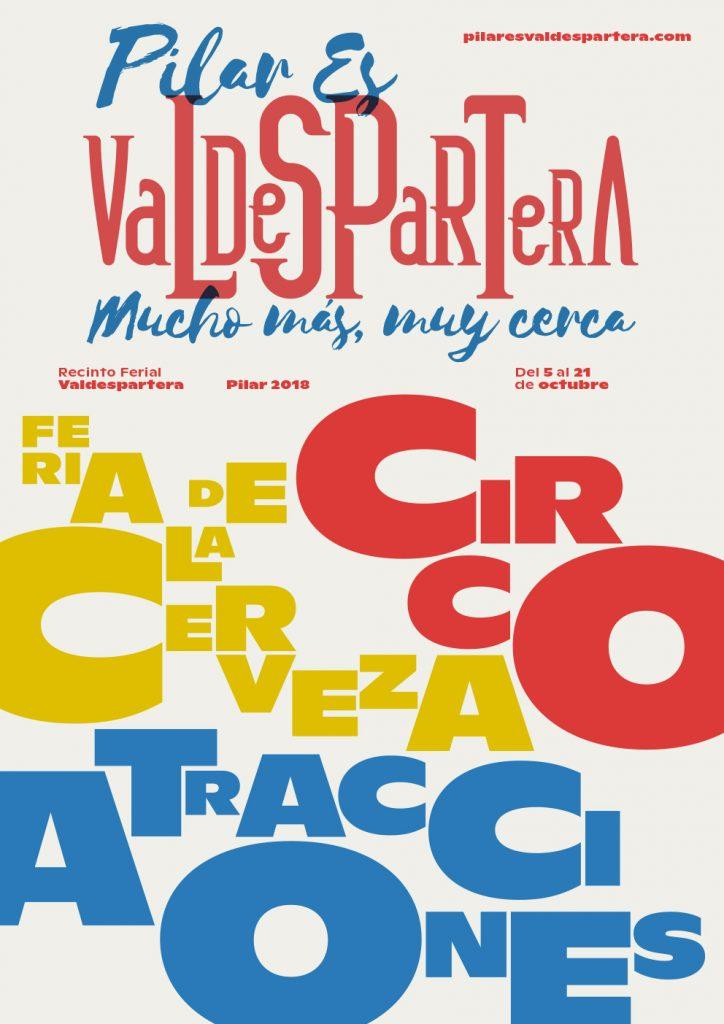 Recinto Ferial Valdespartera - Circo, atracciones y fiesta de la cerveza para todos los gustos en las Fiestas del Pilar de Zaragoza 2018