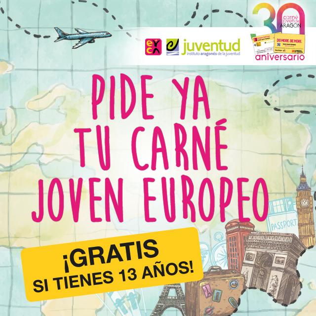 Carné Joven Europeo - Aniversario 30 años