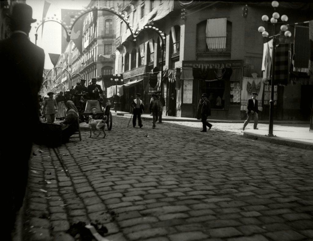 Fotografias antiguas de zaragoza - calle alfonso 1899