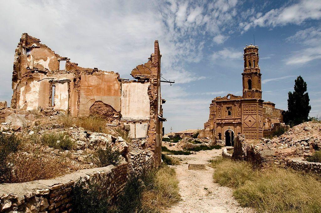 Pueblos de Zaragoza - Belchite Viejo- Fuente Escapada de fin de semana