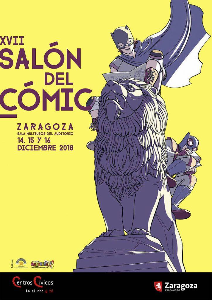 SALÓN DEL COMIC DE ZARAGOZA - CARTEL