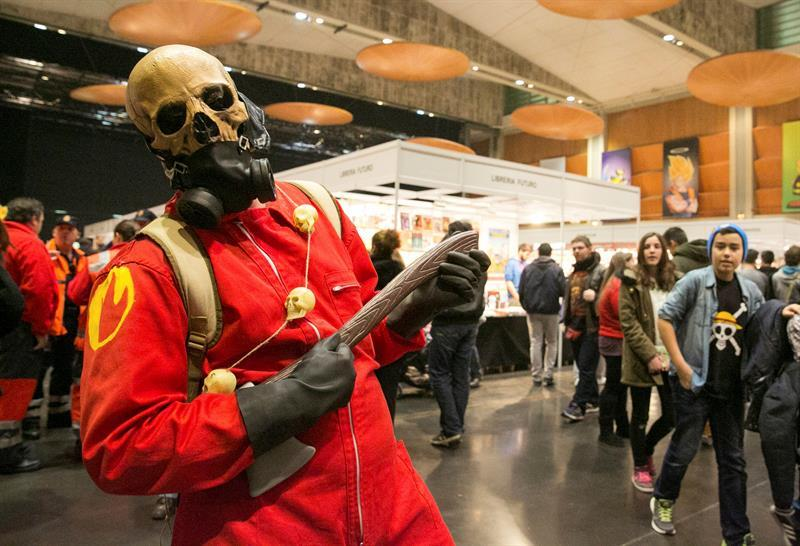 salon del comic de zaragoza - cosplay