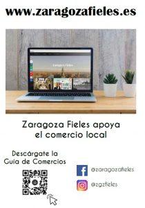 Zaragoza Fieles apoya el comercio local - Guía de Comercios de proximidad