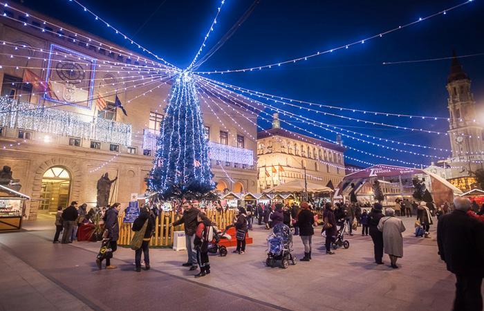 Mercadillos de Navidad en la Plaza del Pilar que no te puedes perder