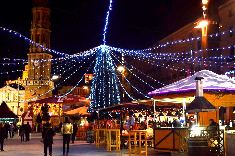 Mercadillos de Navidad en Zaragoza para disfrutar de las fiestas