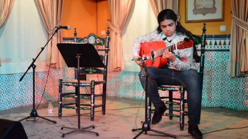 Concierto de Aarón Jiménez 'El Cherry'.Abril llena de flamenco las noches de Zaragoza