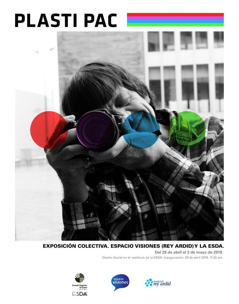 Cartel de la exposición de Diseño Social en la ESDA de Jose Antonio Cerrudo Mercado