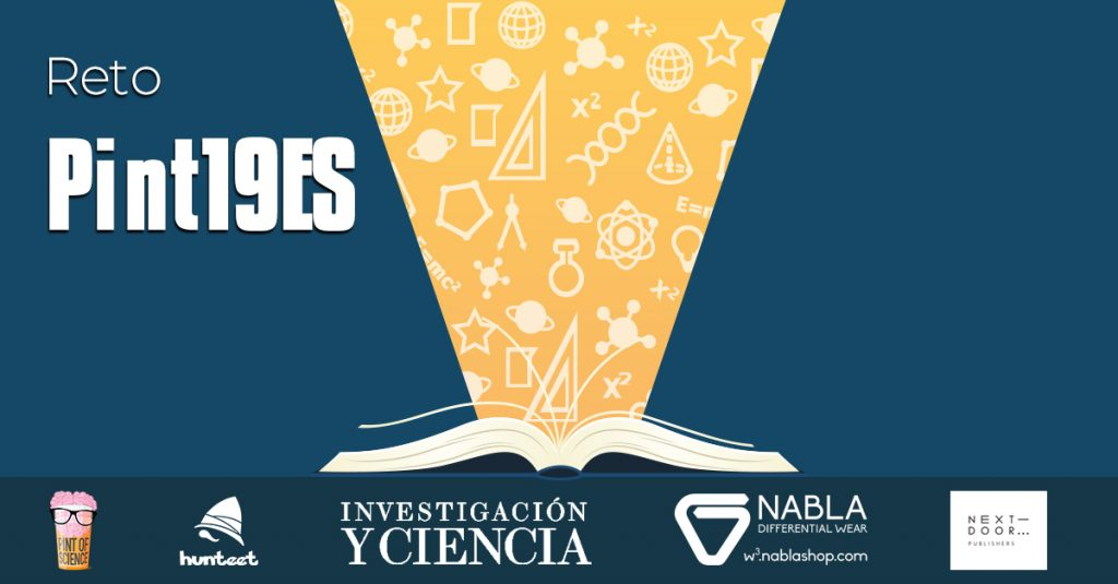 Participa en el reto de Hunteet de Pint of Science y gana premios en las charlas