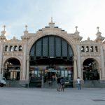 Mercado Central de Zaragoza antes de su cierre para el reacondicionamiento