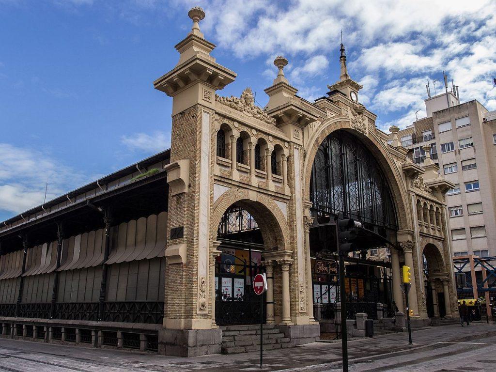 Mercado Central de Zaragoza uno de los edificios con más historia en el que no podemos dejar de pensar