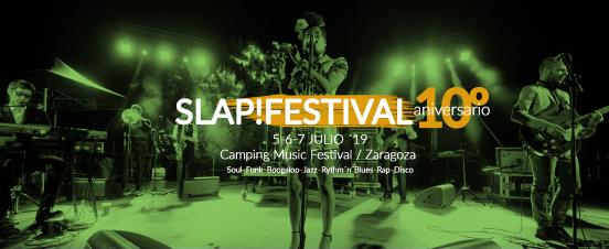 Slap! Festival 2019 la mejor música en Zaragoza