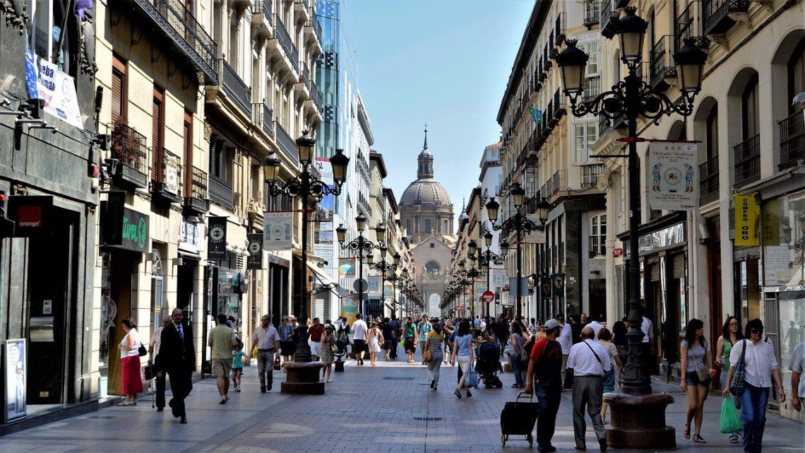 Calle Alfonso I Zaragoza, callejón Las Once Esquinas