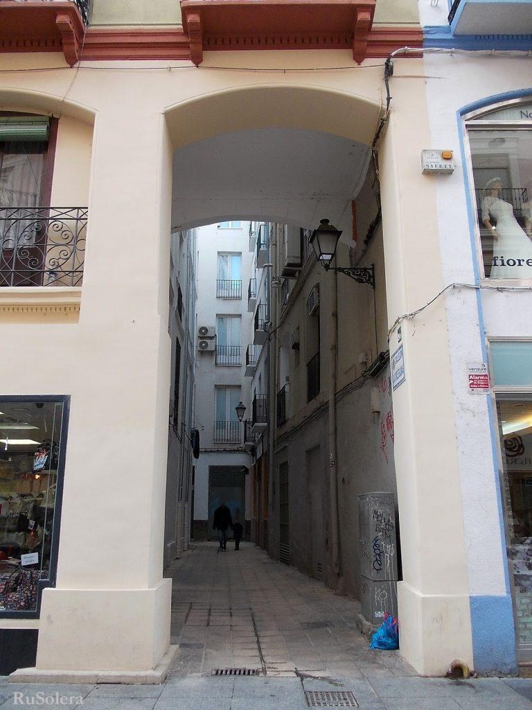 Callejón las once esquinas Zaragoza en la actualidad