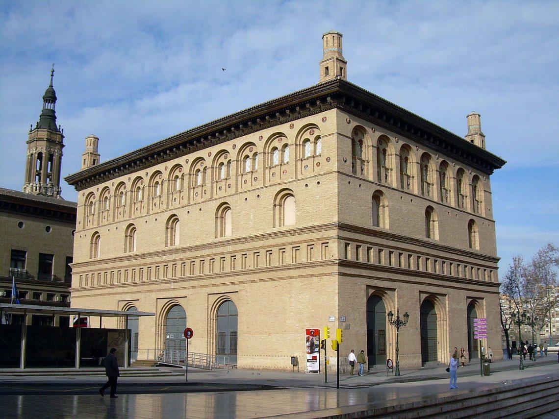 La Lonja de Zaragoza, edificio renacentista del siglo xvi