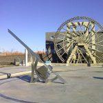 La noria de agua de Zaragoza y el reloj de sol