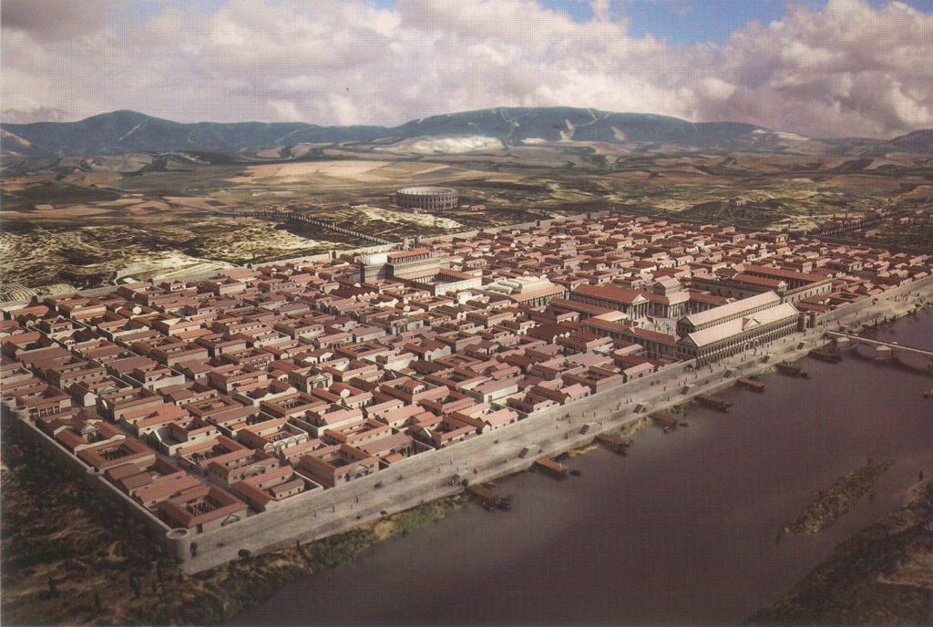 Caesaraugusta, la ciudad de Zaragoza en el siglo II