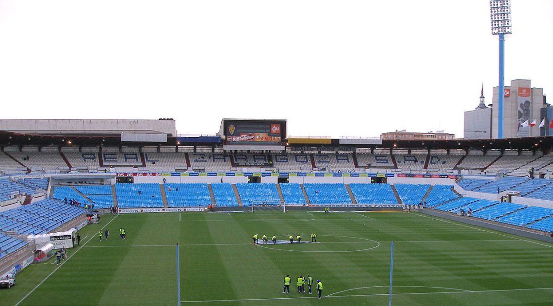 Estadio de La Romareda, de la ciudad de Zaragoza, en la actualidad