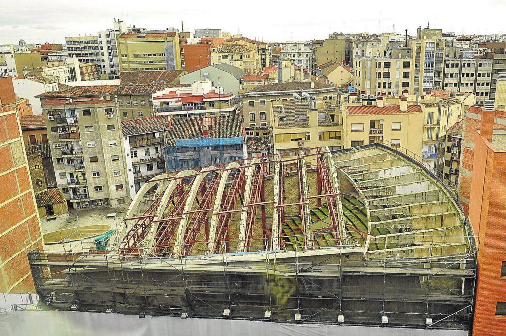 Estado actual del Gran Teatro Fleta de Zaragoza