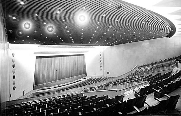 Interior del Gran Teatro Fleta de Zaragoza