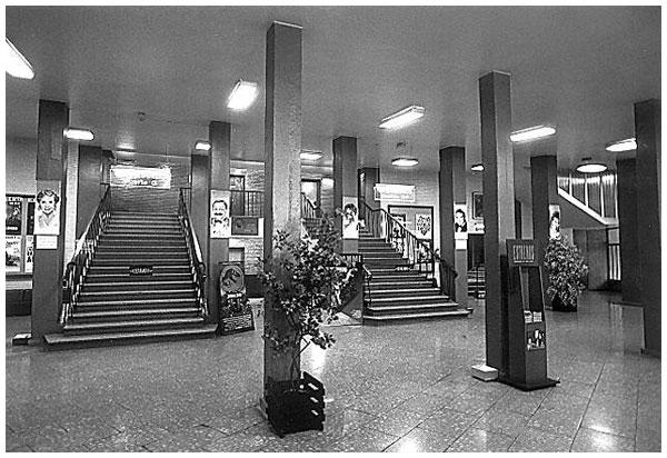 Vestíbulo, entrada al Gran Teatro Fleta
