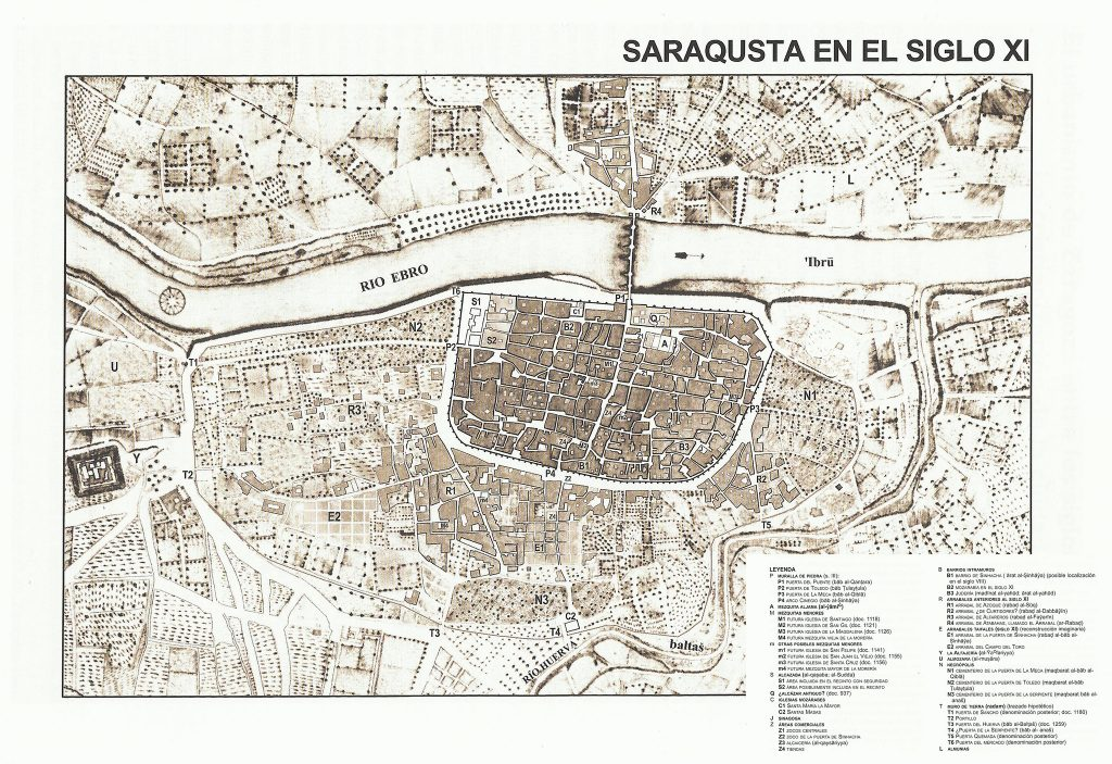 Mapa de Zaragoza en el siglo XI.jpg