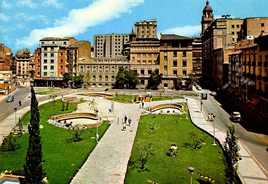 Plaza Salamero en 1972