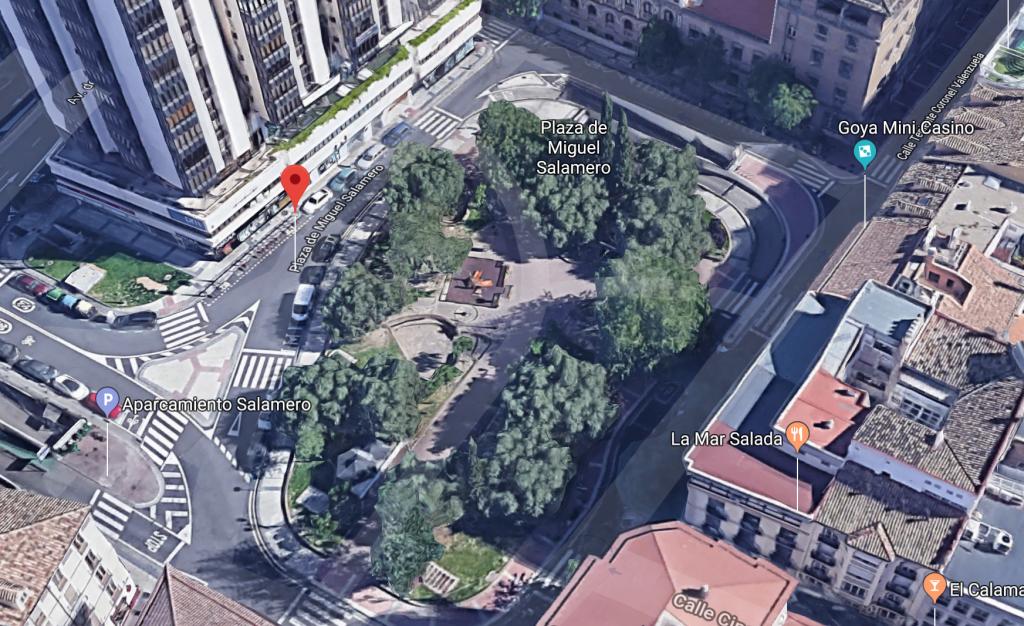 Plaza del Carbón en la actualidad