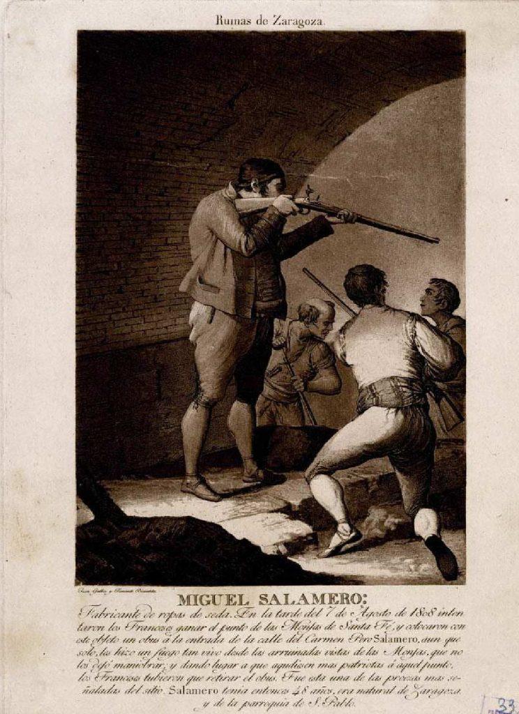Retrato de Miguel Salamero