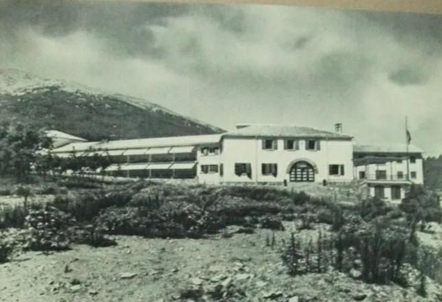 El Sanatorio de Agramonte cuando estaba en activo