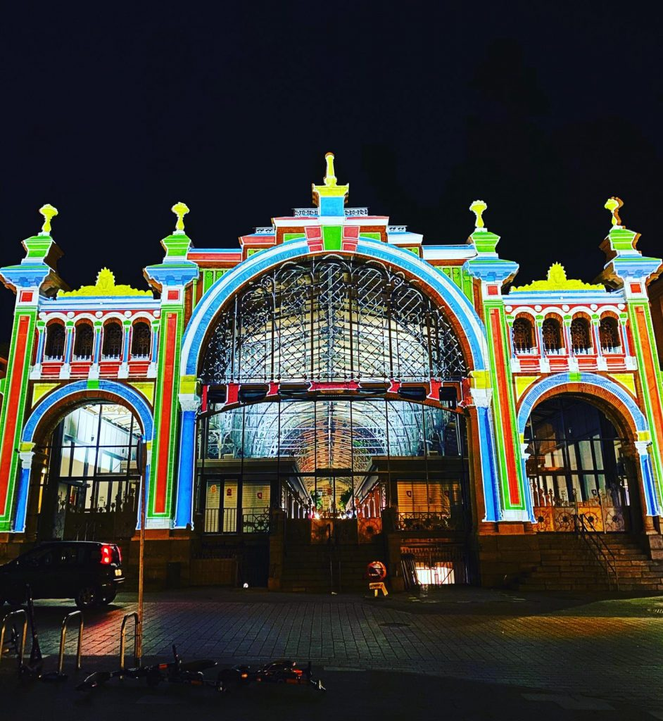 El Mercado Central de Zaragoza en la inauguración