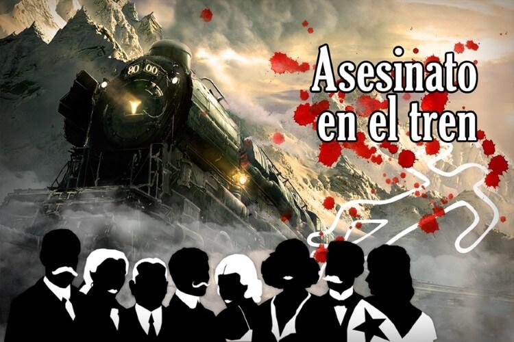 Juego de escape Asesinato en el tren de Clue Hunter Zaragoza