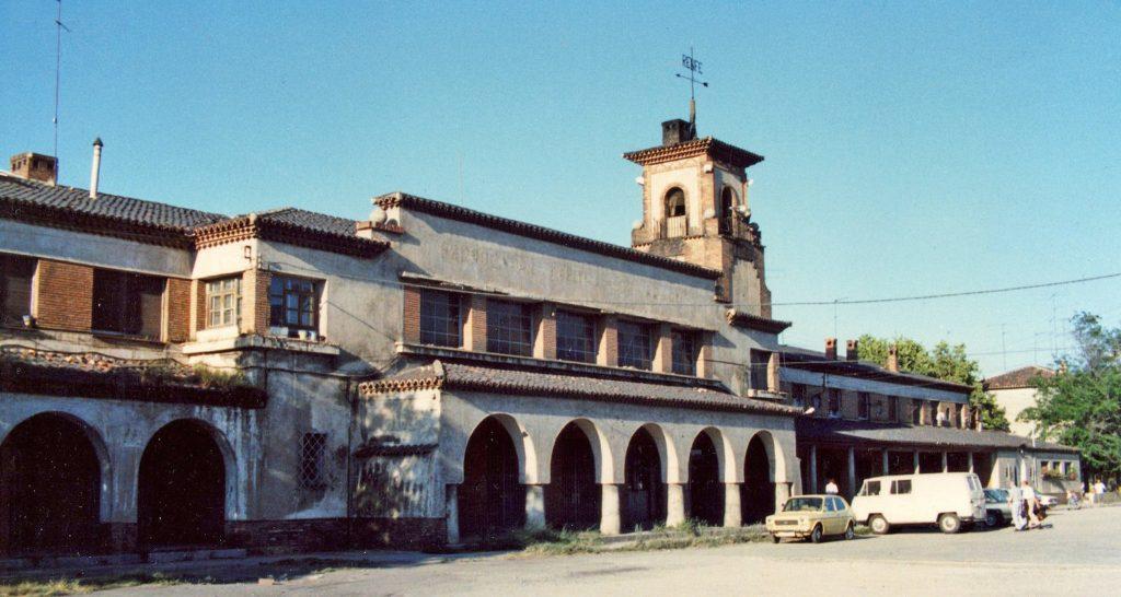 Antigua Estación Delicias en la avenida Navarra en 1988