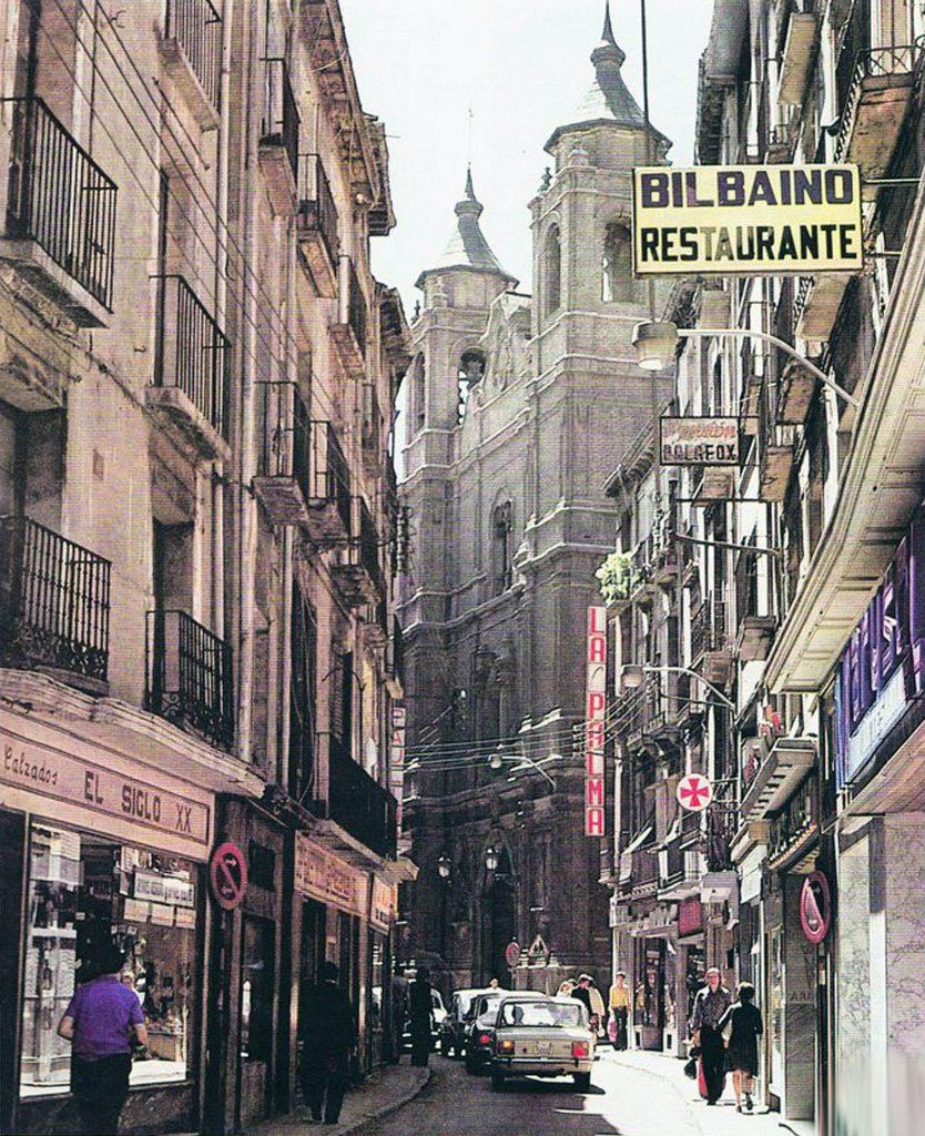 Calle Escuelas Pías en 1976, un de los grandes cambios de Zaragoza en los últimos 40 años