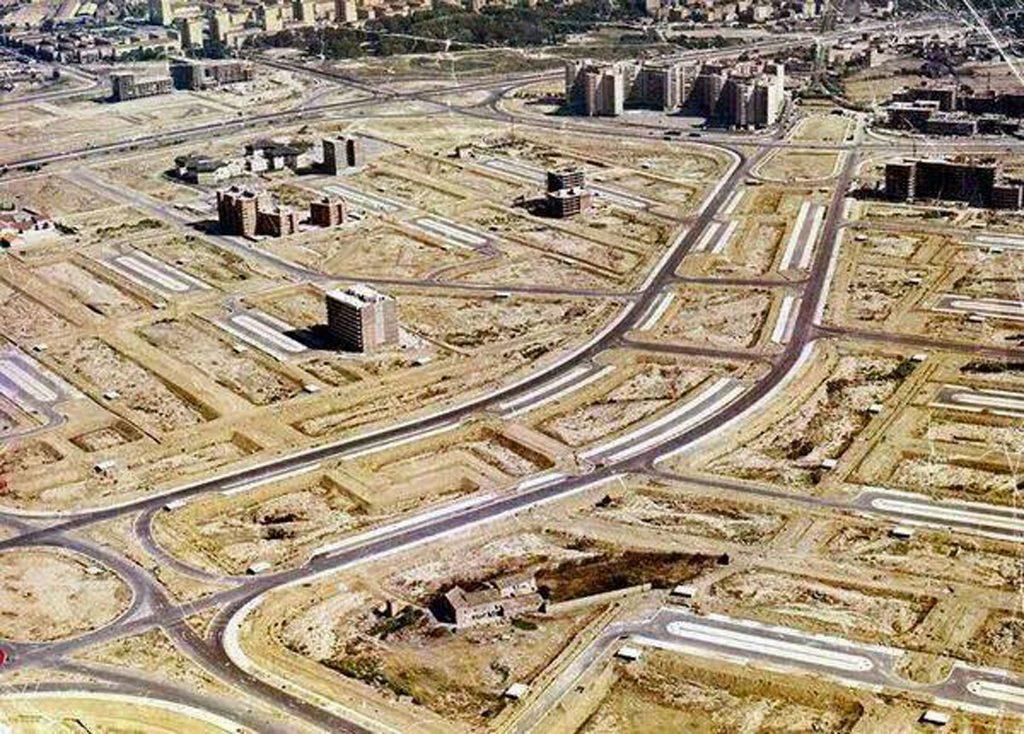 El Actur en 1982 sin Gran Casa ni casas, un gran cambio de Zaragoza en los últimos 40 años