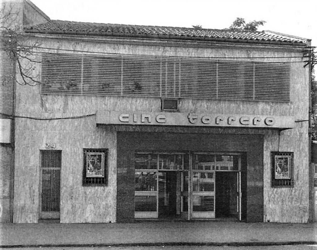 El cine Torrero en 1971, uno de los cambios de Zaragoza en los últimos 40 años