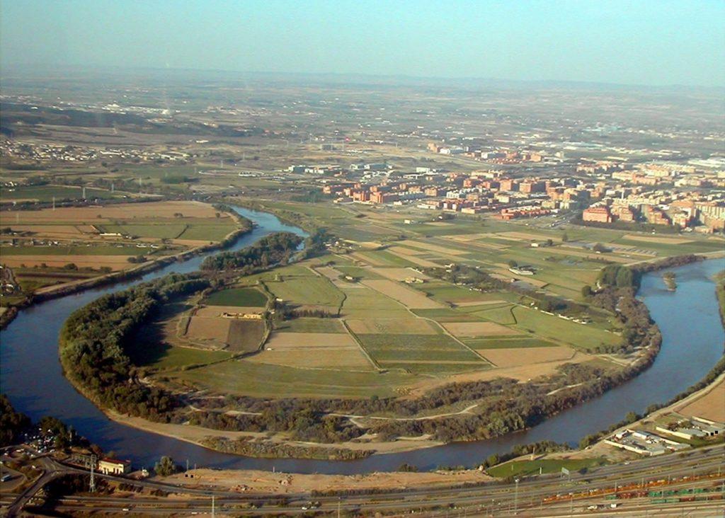 El meandro de Ranillas en el 2005