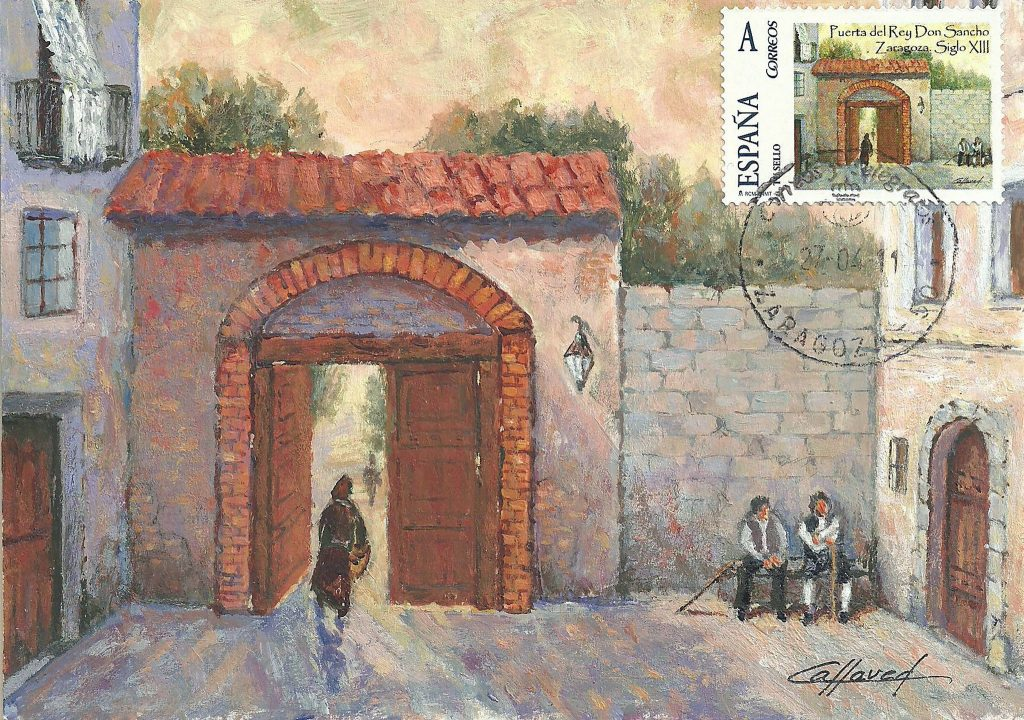 Puerta de Sancho, situada en la actual calle santa Lucía