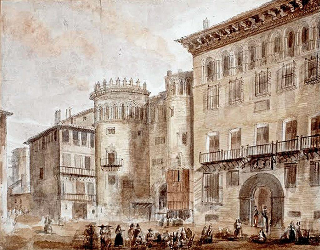 Puerta de Toledo, una de las 12 puertas de Zaragoza