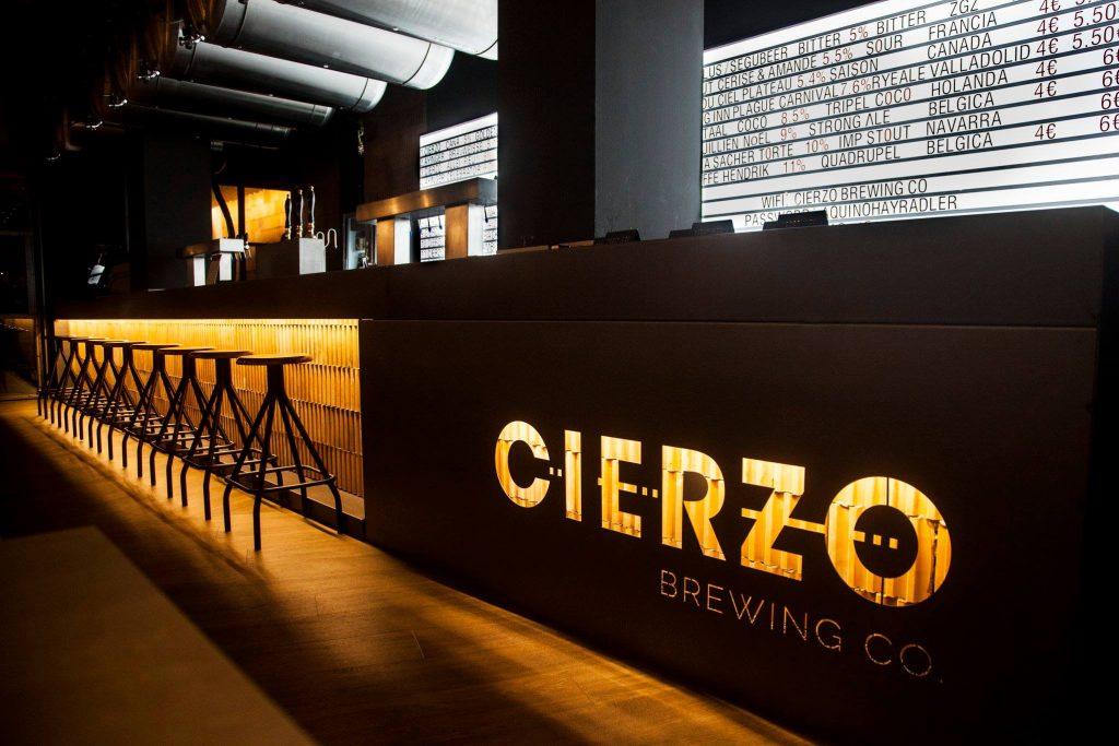 La fábrica y restaurante de Cierzo Brewing situados en pleno centro de Zaragoza