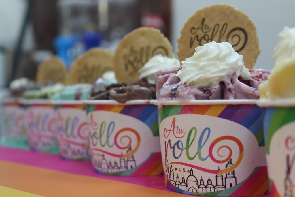 A tu rollo, una de las heladerías de Zaragoza más originales