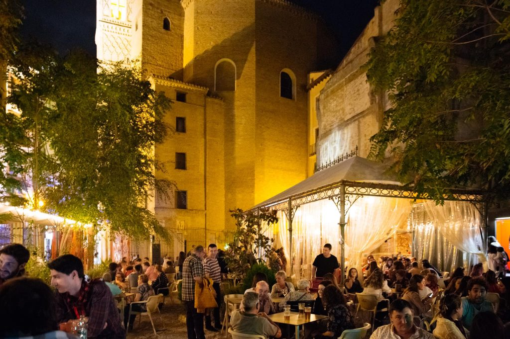 El Patio del Plata, una de las terrazas más bonitas de Zaragoza