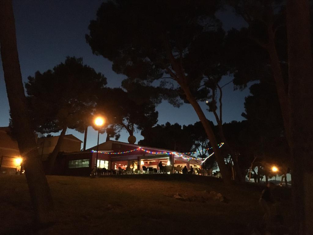 Terraluna Terraza, en el parque del Castillo Palomar en Delicias